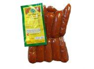 Варено-копченные колбаски С сыром Халяль (Алькино)